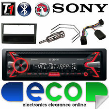 Vauxhall Corsa C Sony Car Stereo Radio CD MP3 USB Bluetooth Steering Control B