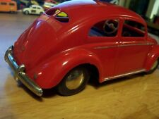 vintage plastic  1952  made  ARNOLD vw   split  window  beetle, germany / RARE