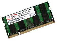 2GB RAM 800Mhz DDR2 für Dell Latitude D830 E5400 E5500 E6400 Speicher SO-DIMM