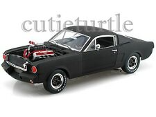 Shelby Collectibles 1965 Shelby Mustang GT 350R 1:18 Diecast SC178 Matt Black