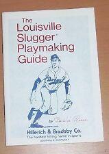 Louisville slugger Playmaking Guide by Pee Wee Reese 1977