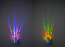 LED PROJECTOR COLOUR CHANGING NIGHT LIGHT 8371RGB PLUG IN CHILDRENS SENSOR LIGHT