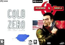 cold zero the last stand & hammer+sickle    new&sealed