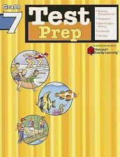 Test Prep: Grade 7 (Flash Kids Harcourt Family Learning), , Good Book