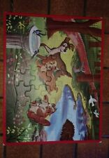 Walt Disney Jaymar Lady and the Tramp tray Puzzle