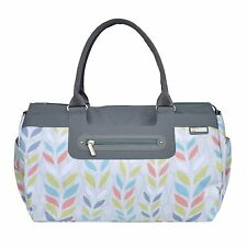JJ Cole Baby Diaper Bag Parker Citrus Breeze w/ Changing Pad NEW 2015