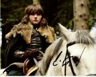 ISAAC HEMPSTEAD WRIGHT Signed Autographed GAME OF THRONES BRAN STARK Photo