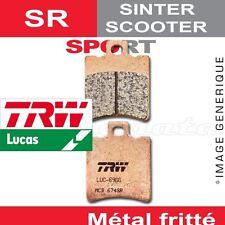 Plaquettes de frein Avant TRW Lucas MCB 674 SR pour Honda SFX 50 Sport 96-