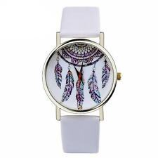 Fashion Women Watch Creative Dream Catcher Leather Analog Quartz Wrist Watches