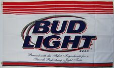 Budweiser Bud Light Beer Flag 3' X 5' Deluxe Indoor Outdoor Banner