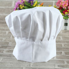 Adult Kids Polycotton Adjustable Hat Tall Chefs Hat School Baking Cooking