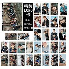 30pcs set Kpop BTS Bangtan Boys YOU NEVER WALK ALONE Lomo Card Photo Poster Gift