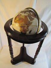 """Replogle Globe 12"""" Platinum Classic Series Cherry Wood Floor Stand"""