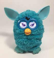 2012 Hasbro FURBY Teal Blue Electronic Interactive Pet WORKING EUC