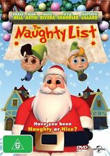 ●● THE NAUGHTY LIST ●● (Dvd, 2014) Have YOU Been Naughty? Or Nice? Drake Bell