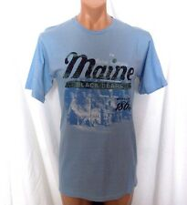 New MAINE BLACK BEARS NCAA Young Mens Large SOFFE S/S COTTON TEE Soil 10% Off