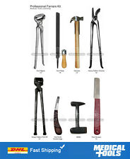 Professional/Farrier/Kit/Set/Horse/Nippers/Clinchers/Pull-Off/Buffer/Rasp/Hammer