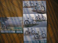 ATALA MOUNTAIN BIKE CATALOGO 1988 SALES BROCHURE UP CTB CATALOG BICYCLE