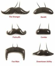 Flash Stache Light Up Mustache by HogWild - The Stranger - FREE SHIPPING