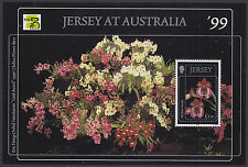 Jersey 1999 Jersey Orchids (4th Series) Mini Sheet UM SGMS898 Cat £4.00