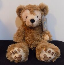 Pre-Duffy The Disney Bear Plush Hidden Mickey Mouse Tan/Brown Teddy Caramel 17""