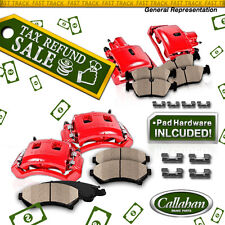 Front and Rear Brake Calipers & Pads 2002 2003 2004 2005 DODGE RAM 1500 4WD 2WD