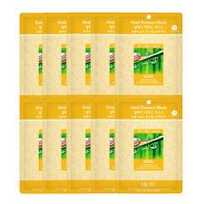 Korea Snail  Essence Full Face Facial Mask Sheet (10 Combo Pack) New   US SELLER