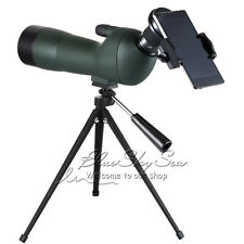 GOMU 20-60x60 Spotting Scope Monoculars Telescope w/ Tripod&Cell Phone Adapter