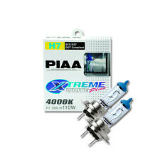 PIAA Pair of  Xtreme White Plus H7 bulbs 55W - 4000K, equal to 110W PN:HE309