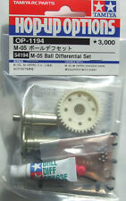Tamiya 54194/OP-1194 RC M-05 Ball Diff. Differential Set For M05/M05Ra/M06
