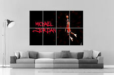 MICHAEL JORDAN DUNK BASKETBALL LEGEND Poster Grand format A0 Large Print
