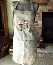 Chef's Apron Barbecue Bake Sale Advertising Bib Picnic Big Pocket Adjustable