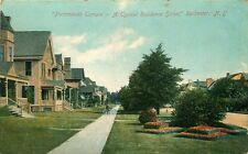 ROCHESTER NY PORTSMOUTH TERRACE TYPICAL RESIDENCE STREET POSTCARD c1910