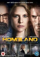 HOMELAND COMPLETE SEASON 3 DVD home land THIRD SERIES All Episodes New UK R2