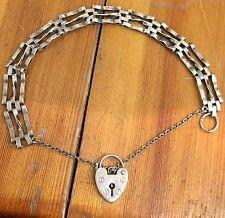 Vintage Silver Gate Bracelet Scrap Repair