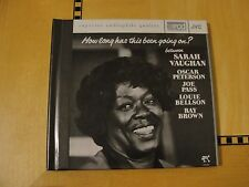 Sarah Vaughan - How Long Has This Been Going On? - XRCD CD JVCXR-0038-2
