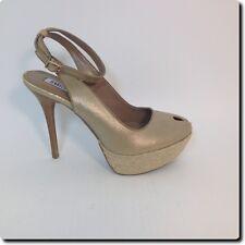 Jennifer Lopez Gold Platform Shoe 8