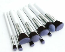 10 PCS Kabuki Blusher Powder foundation Contour Face eye MakeUp Brushes set tool