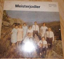 DDR- Schallplatte+  Meisterjodler   + Manfred Görtz + Vinyl