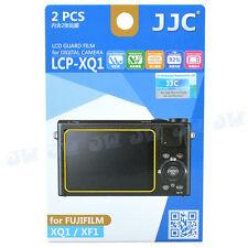 JJC LCD Screen Guard Protector PET Film For FujiFilm XQ1 XF1 Digital Camera 2pcs