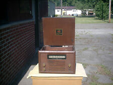 Vintage General Electric Table Top Tube Radio and Phono Player - Model 303
