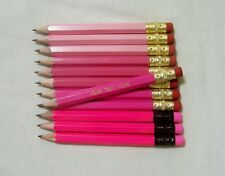 "24 ""Shades of Pink""  Personalized Golf Pencils with Erasers"