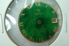 ZODIAC NEW OLD STOCK GUARDSMAN AUTOMATIC 27.5MM MOTELY GREEN DIAL.