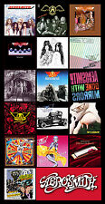 "AEROSMITH album cover discography magnet (5"" X 3"") led zeppelin rolling stones"