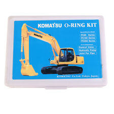 O-Ring Oil Seal Kit for Komatsu Excavators PC60 PC100 PC200, 320 Pcs  O-ring Box