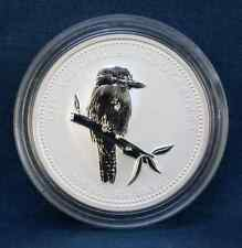 2005 2 OZ. SILVER KOOKABURRA BULLION COIN