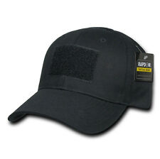 Military Tactical Constructed Operator Patch Cap - Black