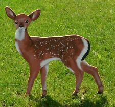 lawn art fawn deer yard decoration yard art