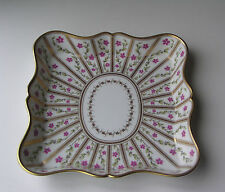 Bernardaud Roseraie by Ancienne Manufacture Royale Limoges Square Scalloped Tray