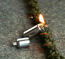 EDC Gear Survival Waterproof Mini Peanut Capsule Lighter Tiny Key Chain keyring